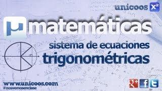 Imagen en miniatura para Sistema de ecuaciones trigonométricas 02