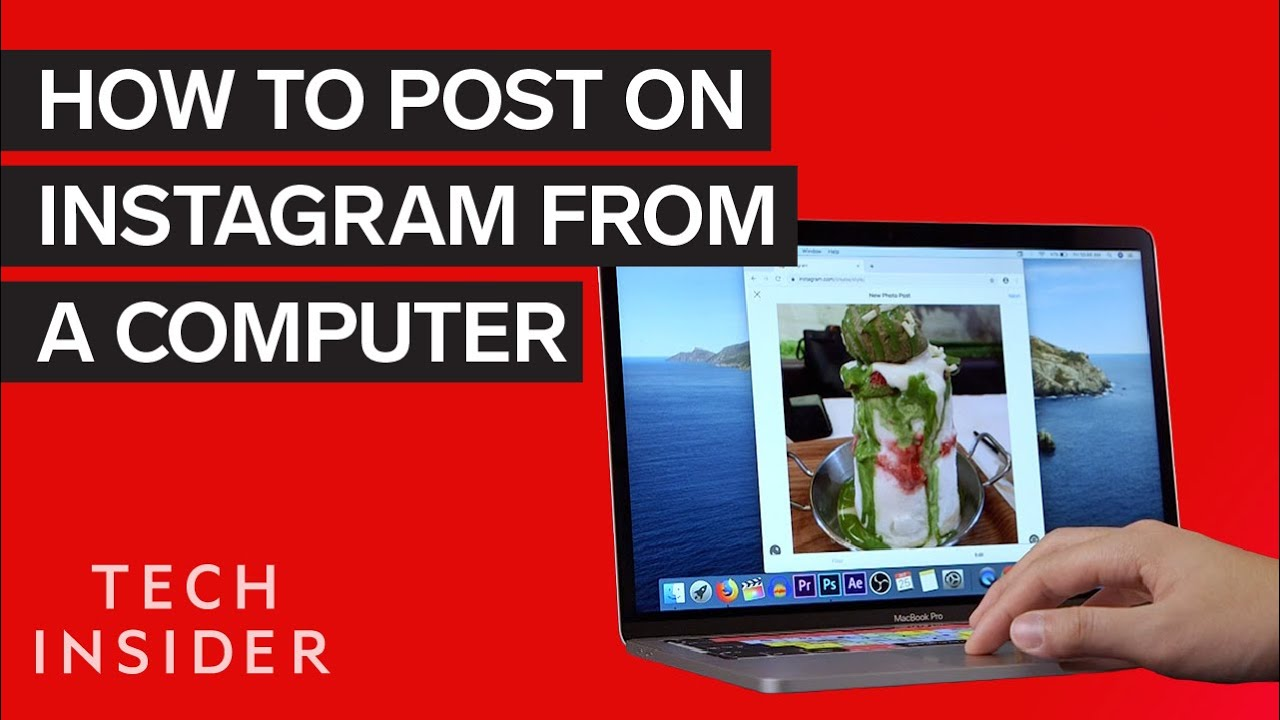 How to Post on Instagram from a Computer