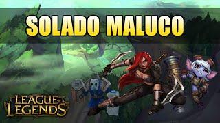 Bem-Vindo ao Bronze #5 - SOLADO MALUCO - League of Legends