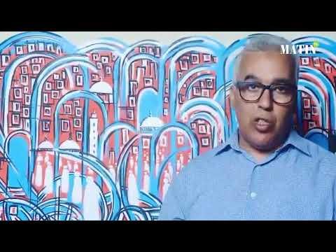 Video : La Fondation Mohammed VI de Promotion des œuvres sociales accueille l'artiste Abdellah Ouabbi