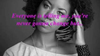 "Alicia James - ""Crazy In Love + Lyrics"""