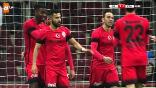 Galatasaray:3 - Karşıyaka:1   Gol: Ryan Donk
