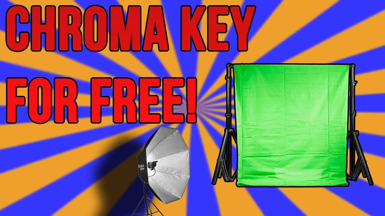 DiehlGames - How to Chroma Key Your Camera in OBS - Remove Your Background for Free! (Open Broadcaster Studio)