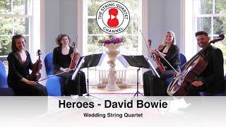 Heroes (David Bowie) Wedding String Quartet