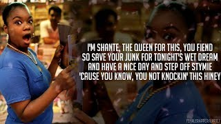 Roxanne Shanté - Knockin' Hiney (Lyrics - Video)