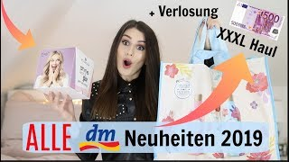 DM NEUHEITEN 2019 l 500€ xxl dm Haul + Verlosung