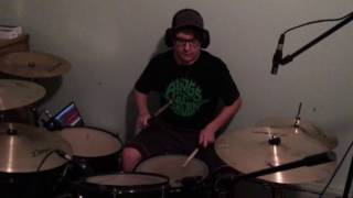 burning bridges drum cover