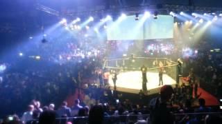 Arena tour 2014 himno argentino