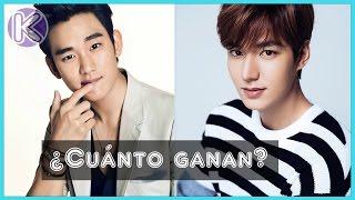 Los 12 actores coreanos mejor pagados