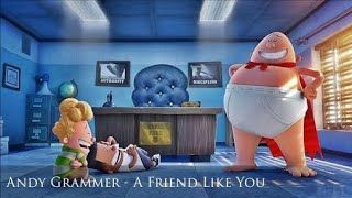 A Friend Like You (Lyrics) ~Captain Underpants The First Epic Movie Soundtrack