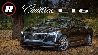 2019 Cadillac CT6 Review: The base turbo four-cylinder sedan won't leave you in tears