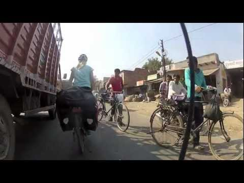 Cycling in Northern India