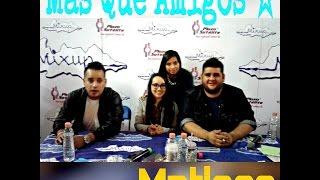 Matisse -Firma de Autógrafos Plaza Satélite -Màs Que Amigos
