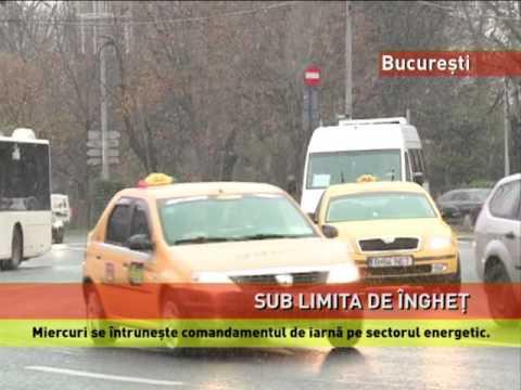 Prima ninsoare în București