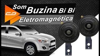 Ouça o Som da Buzina de Carro VT123 para Mitsubishi ASX, Lancer e Outlander - Connect Parts