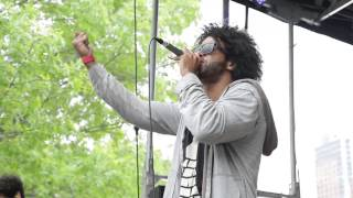 """Clipping. performs """"Work Work"""" at AFROPUNK FEST 2014"""