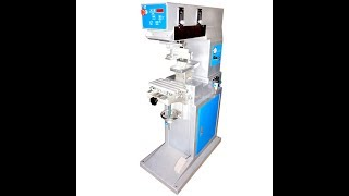Big Size Pad Printing Machine for Urn Cup , Large Size Tampo Printer for Flask