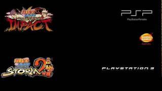 "Naruto Shippuden Ultimate Ninja Impact ""Character Select"""