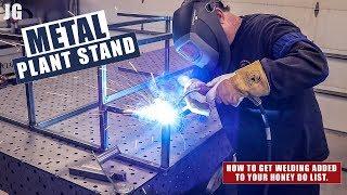 Metal Plant Stand Build | JIMBO'S GARAGE