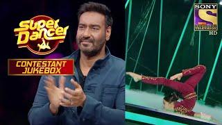 जब Mistake के बाद भी नहीं मानी हार, तो मिला Ajay से Applause | Super Dancer | Contestant Jukebox