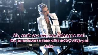 Stephanie Rice - Every Breath You Take (The Voice Performance) - Lyrics