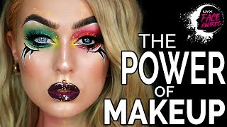 THE POWER OF MAKEUP - NYX Nordic Face Awards Last Challenge | Evelina Forsell