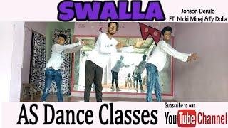 Jason Derulo - Swalla (feat. Nicki Minaj & Ty Dolla $ign) (Official Music Video) Choreo By Subham