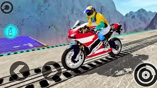 Impossible Moto Bike Tracks 3D - Best Android Gameplay #2