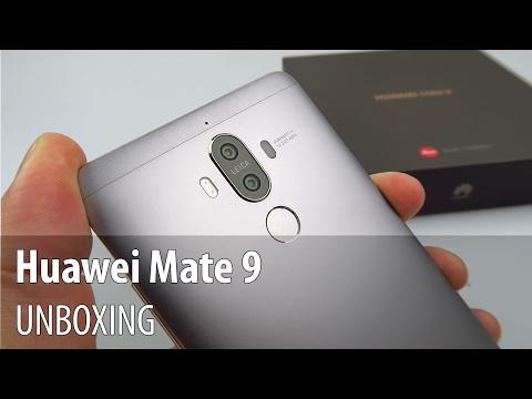 Huawei Mate 9 Unboxing în Limba Română