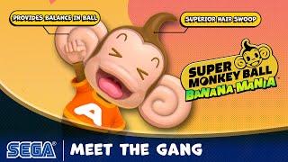 Super Monkey Ball: Banana Mania Meet the Gang Gameplay Trailer