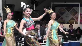 Thai dancers perform the Four Regions' Dance at the Taste of London Festival 2013 - Day 4 of 4