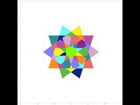 伊斯蘭的幾何拼貼 12A