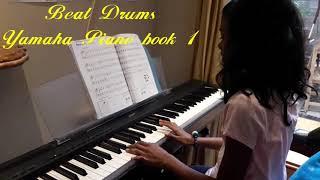 Beat Drums - Yamaha piano book 1 - Ashena