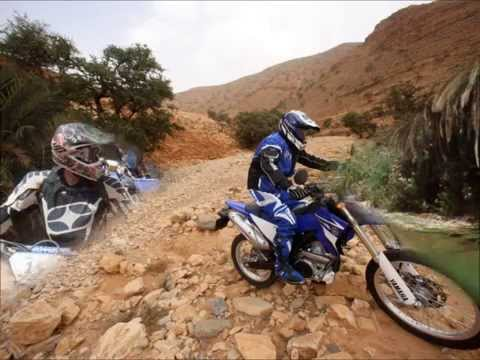 Yamaha Bike tour, Southern Morocco on a WR450F