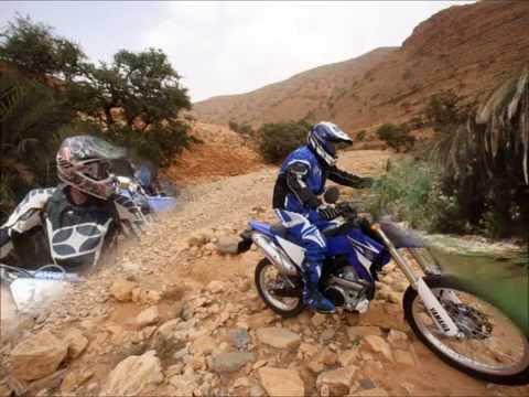Yamaha Bike tour, Southern Morocco on a WR450F