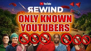 YouTube Rewind 2018 but without all the unknown YouTubers