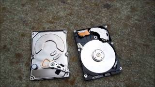Quick, Simple way to wipe out the computer data on a dead hard drive