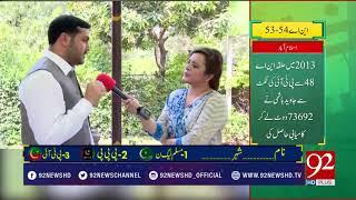 Intikhab Ahtisab   Problems of NA-53,54 Islamabad   3 July 2018   92NewsHD