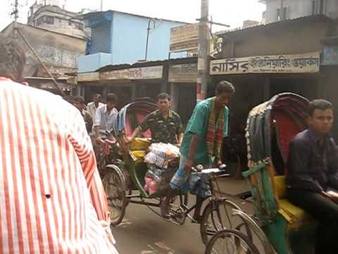 Rickshaw in Dhaka, Bangladesh