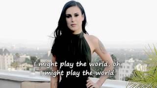 "Rumer Willis - ""Play the World"" w/ lyrics"