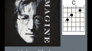 John Lennon Imagine lyrics chords