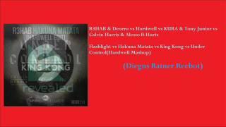 Flashlight vs Hakuna Matata vs Under Control vs King Kong(Hardwell Mashup) Diegus Ratner Reebot
