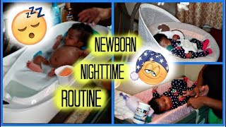 NEWBORN NIGHT TIME ROUTINE! 🌛 width=