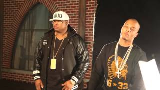 """Behind The Scenes: E-40 Featuring T.I. And Chris Brown """"Episode"""" Videoshoot"""