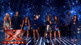 Our X Factor Finalists perform We Found Love | Week 4 Results | The X Factor 2015