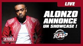 Alonzo annonce un showcase vendredi dans Planète Rap !