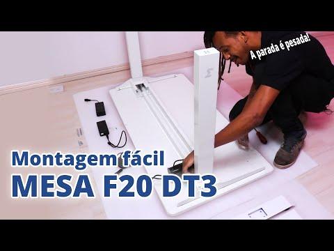 Como montar Mesa Ajustável F20