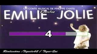Julien Clerc - Emilie et le grand oiseau (Emilie jolie) (Karaoké) Tequi-Qui