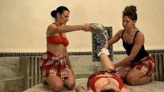 Turkish Steam Bath, Hamam, Peninsula Hot Springs, Mornington Peninsula, Australia
