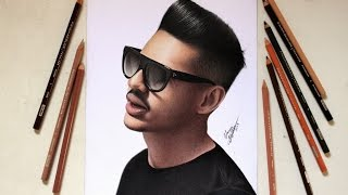 Speed Drawing - Gustavo Hungria (Hungria Hip Hop)